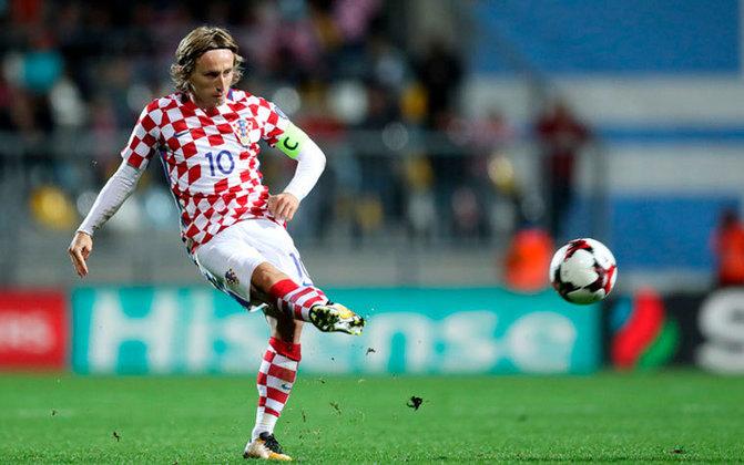 Meia: Luka Modric (croata)