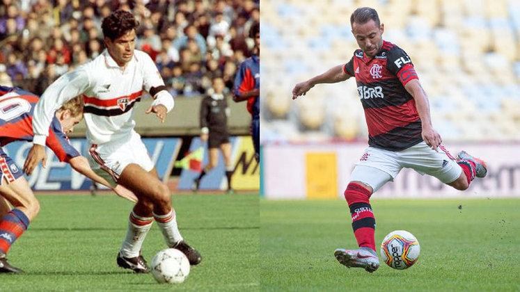 Meia - Raí x Everton Ribeiro