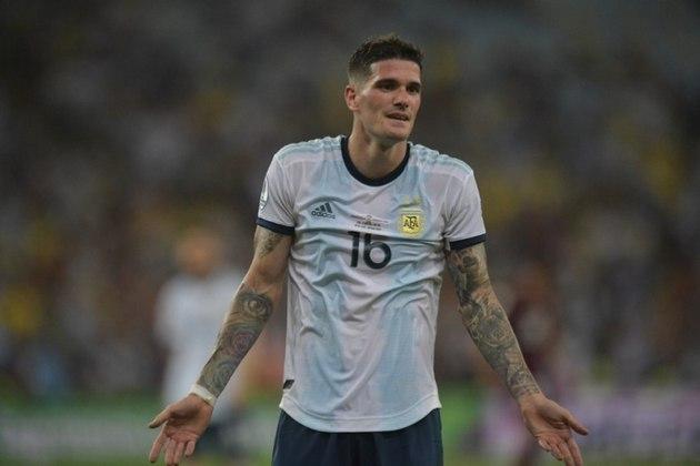 Meias: Fred (Brasil) – 22 milhões de euros x Rodrigo de Paul (Argentina) – 38 milhões de euros