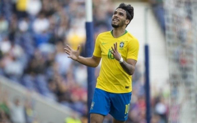 Meias: Lucas Paquetá (Brasil) – 30 milhões de euros x Lo Celso (Argentina) – 27 milhões de euros