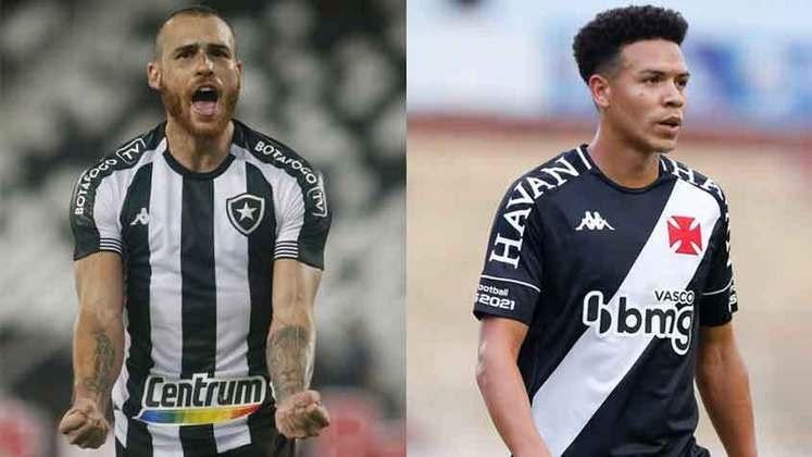 MEIO-CAMPISTAS: O Vasco contratou Marquinhos Gabriel e Romulo, e o Botafogo contratou Felipe Ferreira, Marco Antônio, Matheus Frizzo, Pedro Castro e Ricardinho.
