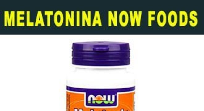 melatonina now foods