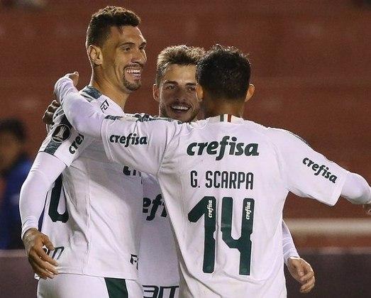 Melgar 0x4 Palmeiras - fase de grupos de 2019