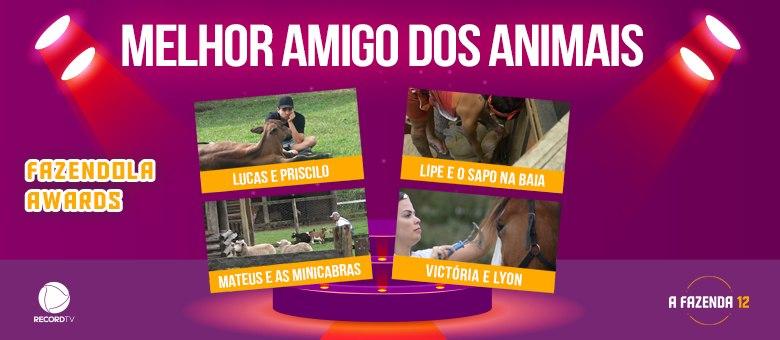 Lucas, Lipe, Mateus ou Victória: quem merece o título de Melhor Amigo dos Animais?