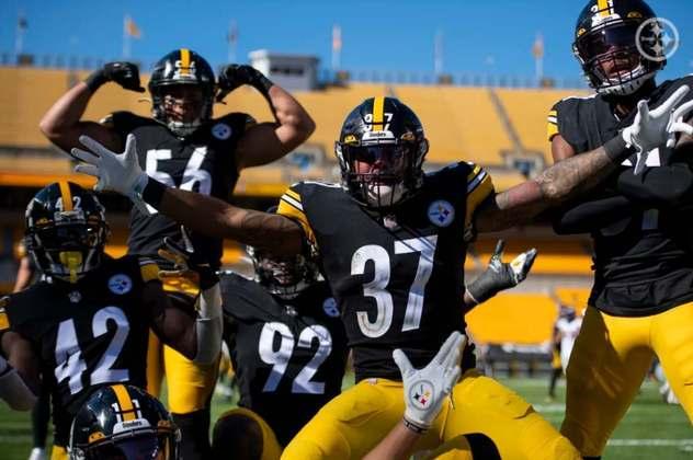 Melhor defesa da NFL e ainda invictos, o Pittsburgh Steelers vai dar trabalho na temporada.