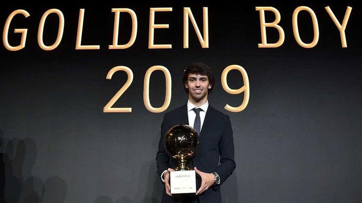 Melhor jogador jovem de 2019 - João Félix venceu o prêmio Golden Boy de 2019, dado pelo jornal 'Tuttosport', ao melhor jogador  até 21 anos que atuam na Europa. Ele ficou na frente de Sancho e Havertz, que completaram o pódio.