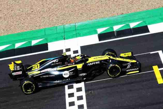 Melhor marca do piloto da Renault foi de 1min28s219