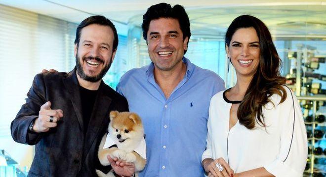"""Celso Zucatelli., Edu Guedes e Mariana Leão, do extinto """"Melhor Pra Você"""""""