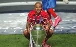 Thiago Alcântara (Espanha) - Bayern de Munique-ALE e Liverpool-ING