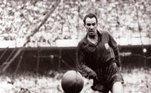 8. Telmo ZarraTelmo Zarra é o segundo jogador de futebol que mais vezes foi artilheiro do campeonato espanhol