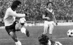 5. Gerd MullerLenda do futebol alemão e ganhador de uma Bola de Ouro e Chuteira de Ouro, Muller marcou época