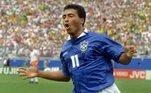3. RomárioRomário ganhou a Copa do Mundo de 1994 com a seleção brasileira e marcou gols por todos os clubes em que passou