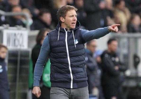MELOU - Julian Nagelsmann desmentiu sobre uma possível negociação com o Bayern de Munique. Hansi Flick, treinador da equipe bávara, deve deixar o clube para assumir a seleção alemã.