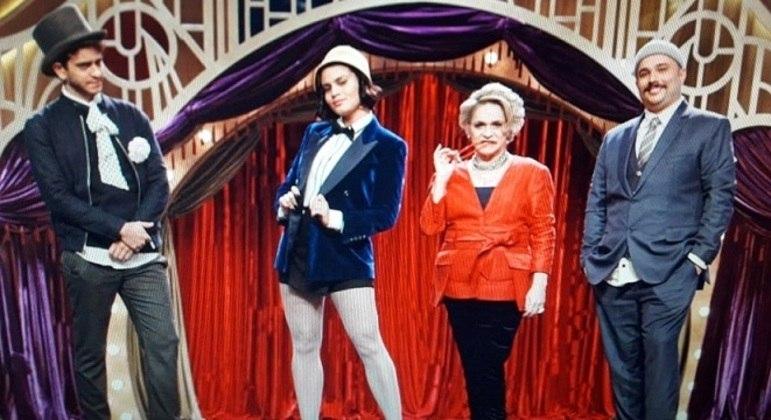 """O casting do """"M.E.M.E da Comédia"""", que vai estrear no canal TNT"""
