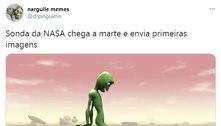 Chegada da Nasa em Marte vira meme; confira os melhores