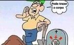 Rivais não perdoam e zoam muito o Corinthians após goleada de 5 a 1 do Flamengo