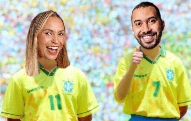 Memes do BBB21 - O entrosamento entre Sarah e Gilberto também foi comparado com a dupla Bebeto e Romário na Copa do Mundo de 94