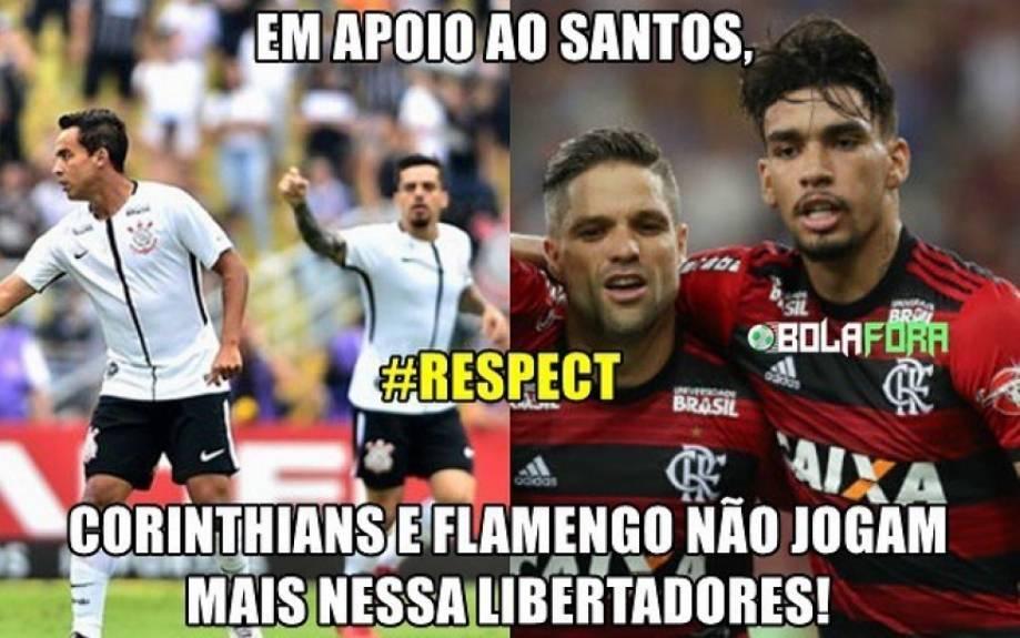 Flamengo é Muito Zoado Após Adeus à Libertadores Veja