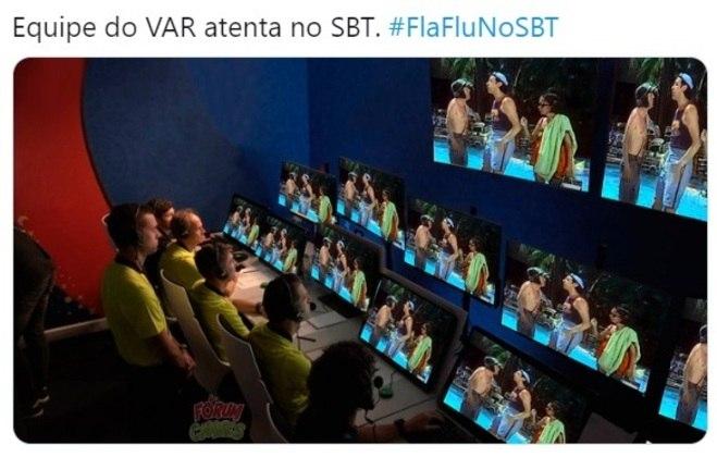 Memes: internautas fazem piadas com transmissão do Fla-Flu no SBT