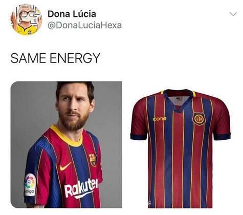 Memes: nova camisa do Barcelona rende zoeiras nas redes sociais