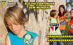 O Palmeiras foi derrotado pelo Tigres, do México, por 1 a 0 e se juntou a Internacional e Atlético-MG como clubes brasileiros que foram eliminados precocemente no Mundial de Clubes. Nas redes sociais, os torcedores zoaram muito o clube, principalmente com o tradicional 'Palmeiras não tem Mundial'. Veja! (Por Humor Esportivo)