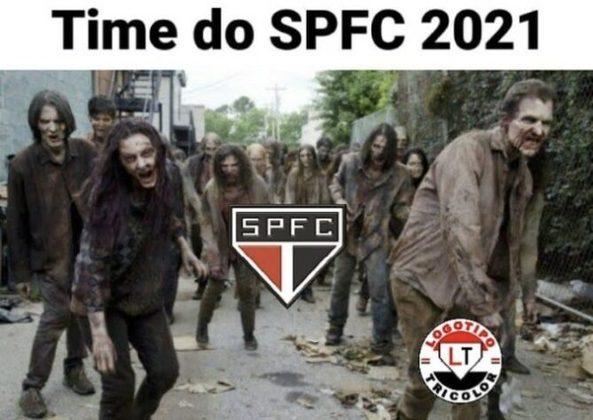 Memes: rivais zoam São Paulo após mais uma temporada sem títulos