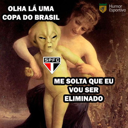 Memes: São Paulo vira piada após eliminação para o Grêmio na Copa do Brasil