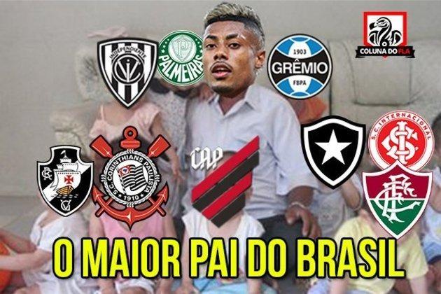 Memes: torcedores do Flamengo comemoram vitória sobre o Athletico Paranaense pela Copa do Brasil