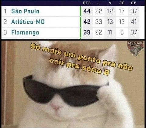 Memes: Torcedores do São Paulo exaltam Fernando Diniz e tiram onda com liderança do Brasileirão