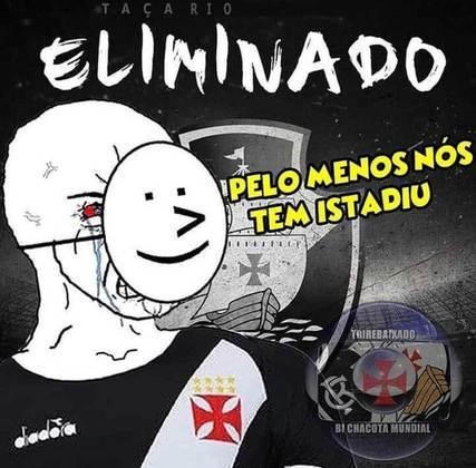 Memes: Vasco é eliminado do Campeonato Carioca