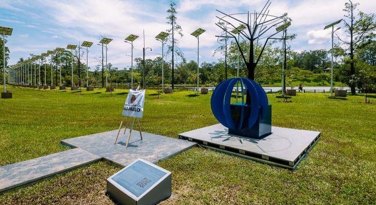 SP inaugura memorial em homenagem às vítimas da covid-19 no Parque do Carmo