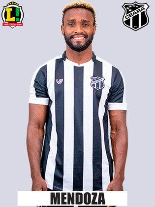 Mendoza: 5.5 - O camisa 10 foi o responsável pelas jogadas de velocidade do ataque do Ceará. No entanto, não conseguiu criar nenhuma chance clara de gol.