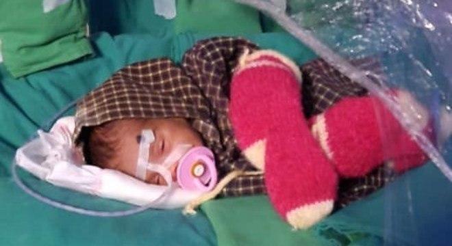 Após quase dois meses, a bebê está pronta para deixar o hospital