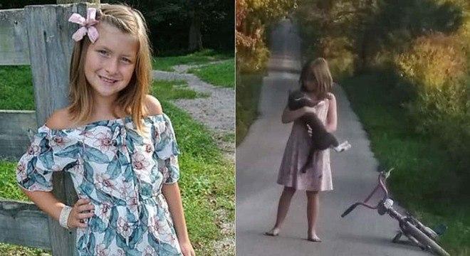 Menina faleceu em acidente ao andar de bicicleta