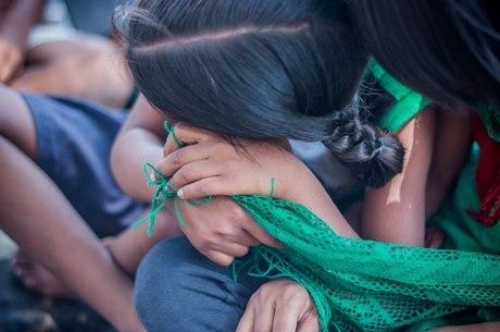 Garota indiana foi internada em estado grave