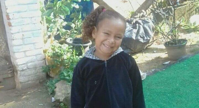 Corpo de menina Kauane é encontrado em Mongaguá (SP)