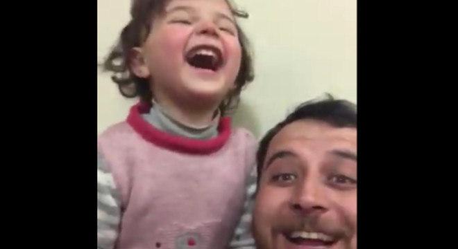 Amigo cria campanha para arrecadar fundos para ajudar a pequena Salwa e sua família