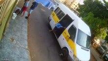 Criança arremessada de van é transferida para UTI em Brasília