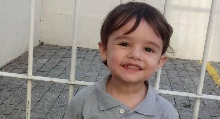 Gael, de 3 anos, sofreu uma parada cardíaca em casa, nos Jardins (SP)