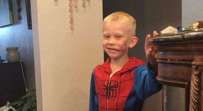 Fã de filmes de super-heróis, Bridger recebeu mensagem de ator dos Vingadores
