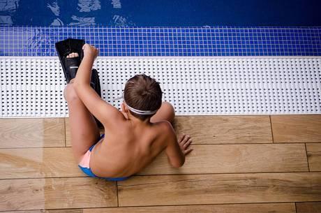Simples fato de estar na água sem atividade não faz mal