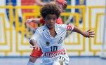 Kauan Basile, de 8 anos, assinou essa semana contrato com a Nike por três anos, com prorrogação automática por mais duas temporadas. Trata-se do jogador brasileiro mais jovem a assinar vínculo com a marca esportiva norte-americana