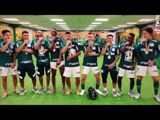 Menos de um mês depois, após a final do Campeonato Paulista de 2020, o jogador Lucas Lima aproveitou a conquista do título pelo Palmeiras, em cima do rival Corinthians, e gravou uma dança para o aplicativo, com os parceiros de equipe ao lado, como forma de resposta ao comentarista.