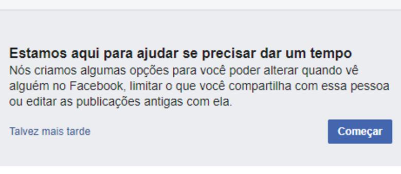 Facebook possui ferramenta especial para os recém-separados