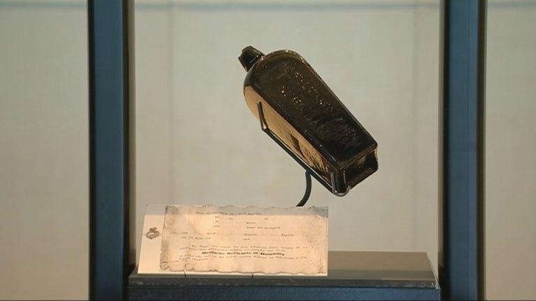 Carta de 132 anos é encontrada dentro de garrafa na Austrália