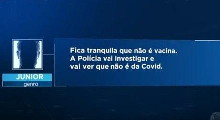 Polícia investiga troca de mensagens