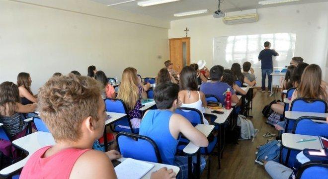 Mensalidades escolares devem aumentar 6,7% no Rio Grande do Sul Crédito: Samuel Maciel / CP Memória