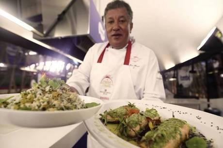 Chefs ensinaram diferentes estilos de pratos