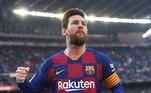 Lionel Messi - Aos 33 anos, craque disse na última semana que não quer mais jogar no Barcelona. A partir daí uma série de possíveis destinos apareceu no futuro do craque. Manchester City e PSG são algumas das opções