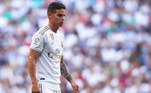 James Rodríguez - O colombiano está na geladeira no Real Madrid. Seu destino seria o Everton, mas ainda não está confirmado